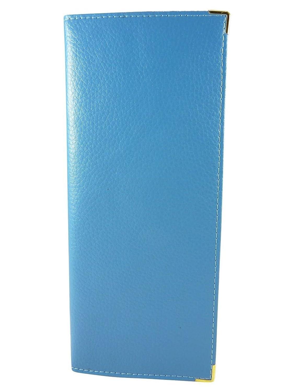 Chequebook Holder Wallet Case Protective heel (Side Split Leather