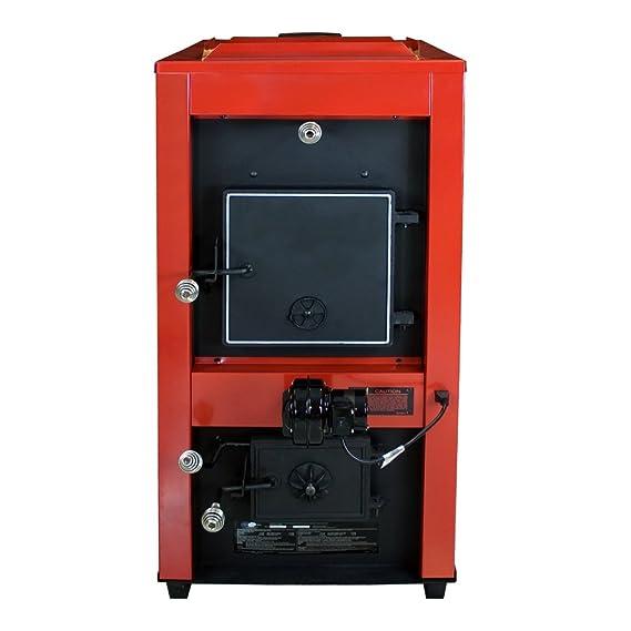 US Stove Company Nosotros estufa 1602R aire caliente horno de leña y carbón: Amazon.es: Hogar
