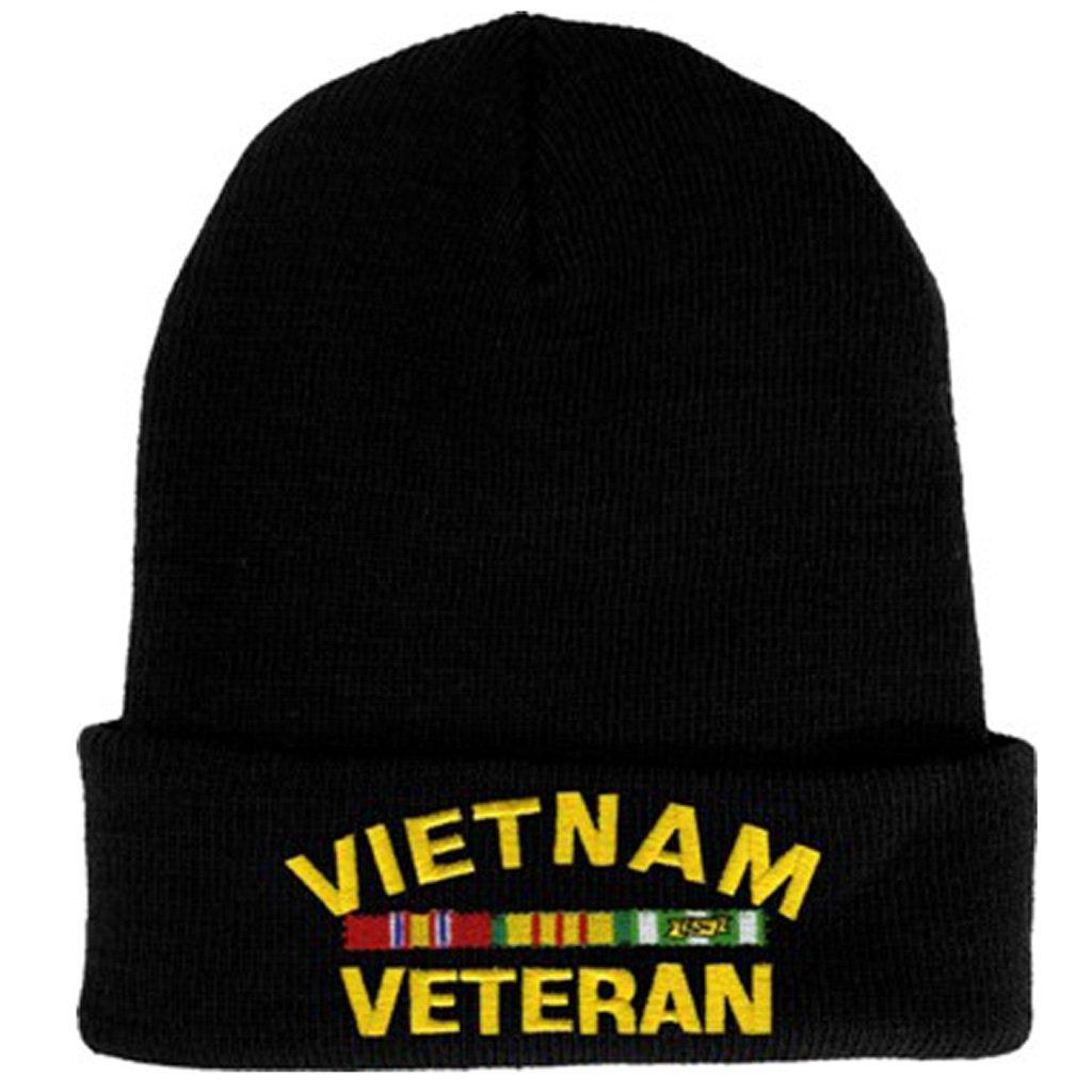 Rush Industries Vietnam Veteran Knit Cap Vietnam War Veteran Hat Military Collectibles Men Women