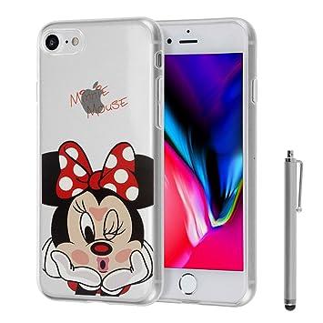 834639e25a4 shopinsm tipo® Transparente silicona TPU funda Carcasa con diseño de  dibujos animados Disney ¡Feliz