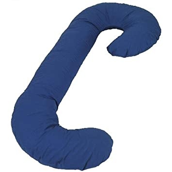 Amazon Snoogle Original Total Body Pillow Color Navy Impressive Snoogle Original Total Body Pillow Cover
