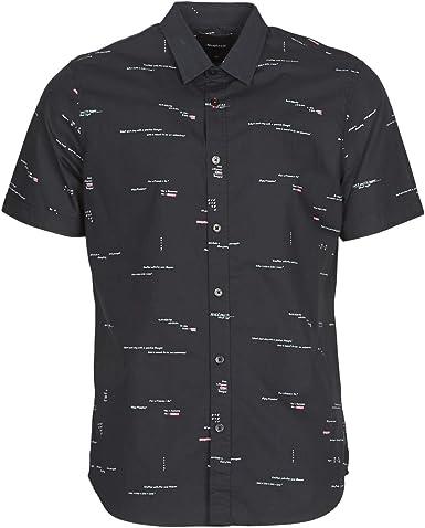 Desigual - Camisa Emory Negro L: Amazon.es: Ropa y accesorios