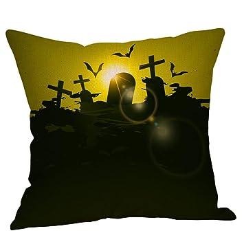 YWLINK Funda De CojíN OtoñO CojíN De Cintura Halloween Funda ...