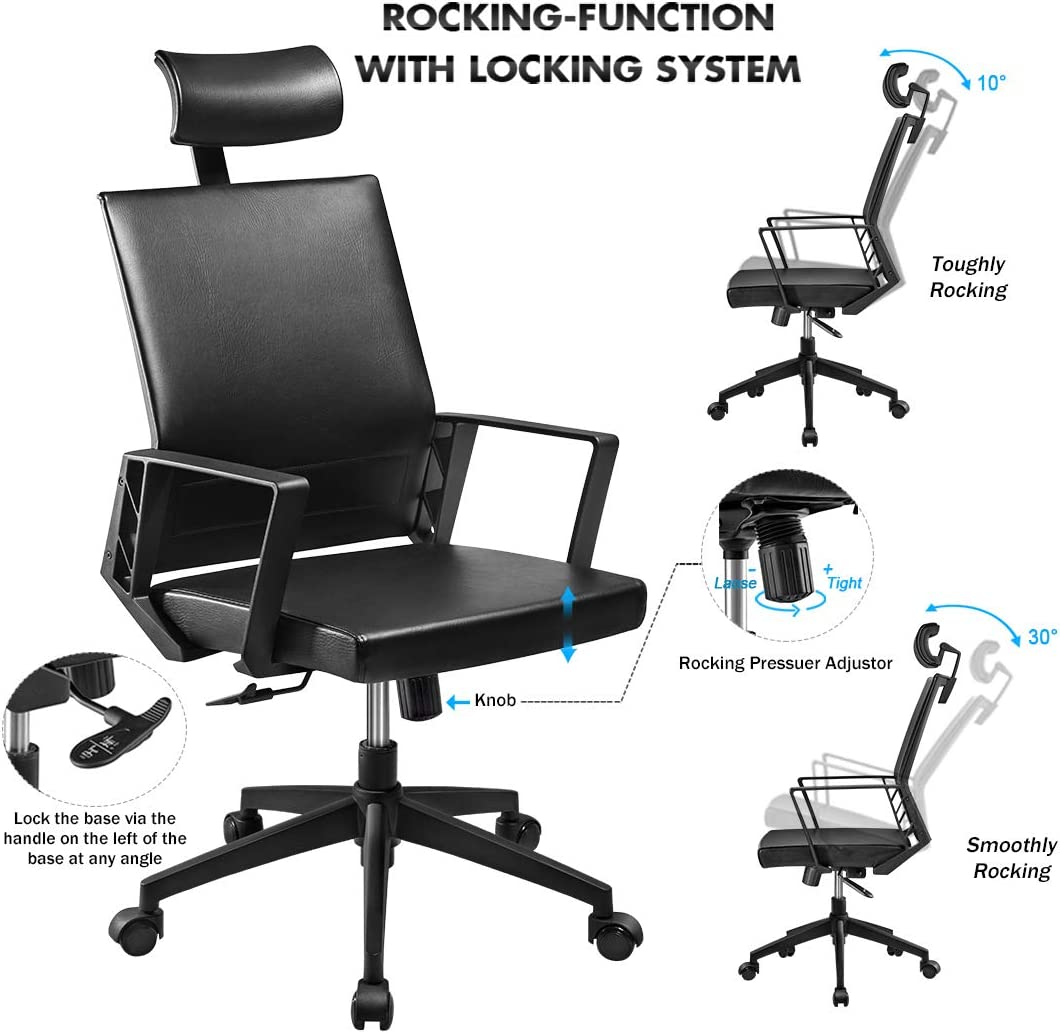 Youngbo Office Chair High Back Computer Desk Chair review