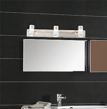 LED-Leuchten Badezimmer WC Nebel Wasser Wand-Edelstahl 3W 45*12.3 ...