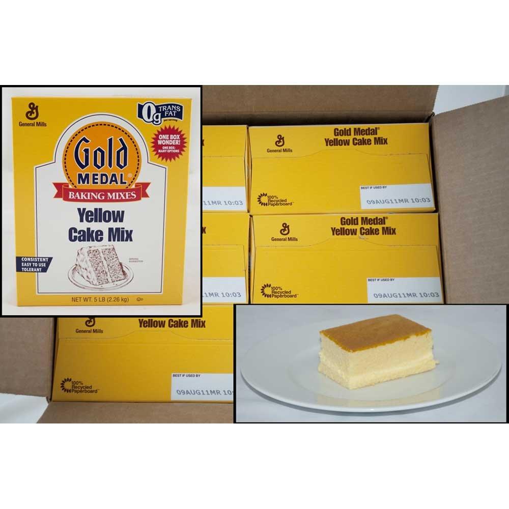 Gold Medal Yellow Cake Mixes 6 Case 5 Pound