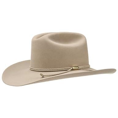 sur des coups de pieds de style limité nouvelle collection Stetson Chapeau Cowboy Carson chapeau feutre de poil chapeau ...