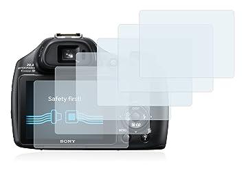 Savvies Protector de Pantalla para Sony Cyber-Shot DSC-HX400V [6 Unidades]: Amazon.es: Electrónica