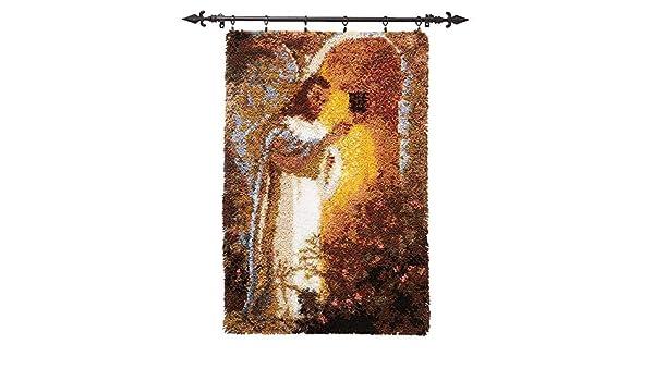 Herrschners/® Jesus at The Door Latch Hook Kit