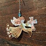 Pilgrim Imports - Cross Angel Ornament - Fair Trade Christmas Tree Ornament