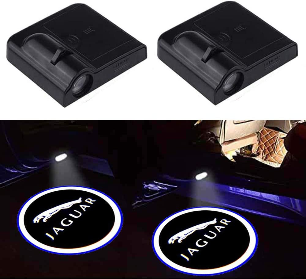 2Pcs Wireless Car Door Logo Light for Acura,Acura Car Door Led Welcome Light,Car Door Courtesy Light Laser Projector Lamp Fit for Acura All Models.
