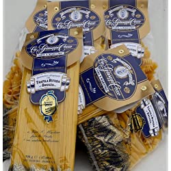 Giuseppe Cocco (6 pack) assorted~Sampler hand-made slow dried in 500g bags from Italy