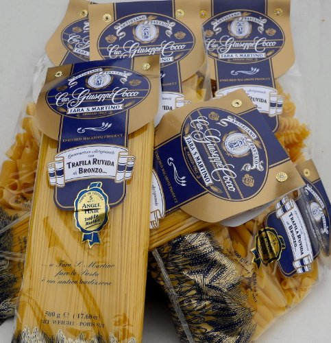 Giuseppe Cocco (6 pack) assorted~Sampler hand-made slow dried in 500g bags from - To Usps Shipping Italy