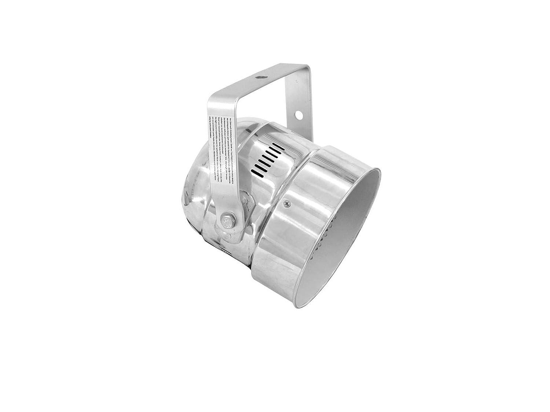 Eurolite 51913618 PAR-56 RGB Licht 5CH Short LED Spot Licht RGB (5 mm) silber 9c3c7b