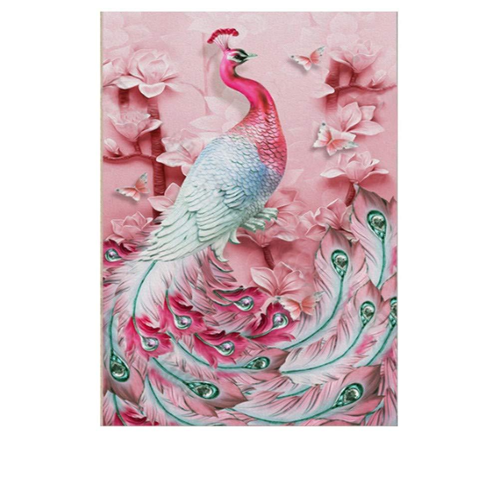 Peacock 5D Diamond Painting, 5D DIY Diamond Painting Cross Stitch Kit