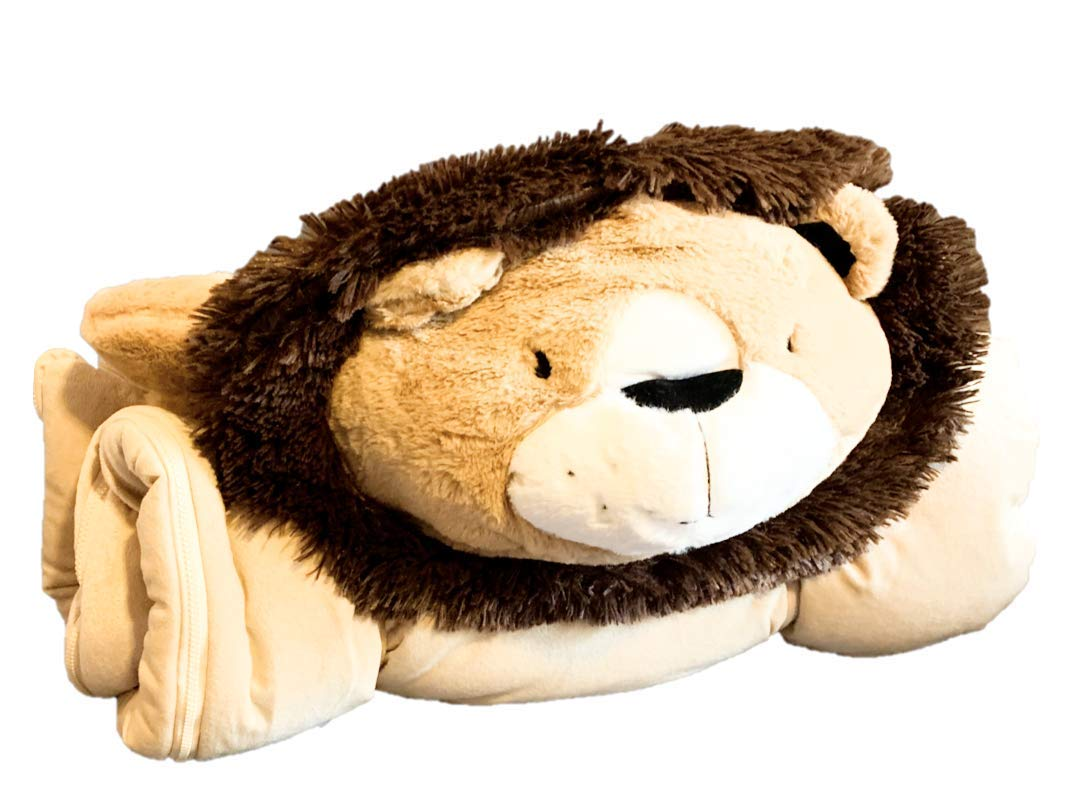 Frolics Plush Sleeping Bag Assorted Animals (Lion) by Frolics