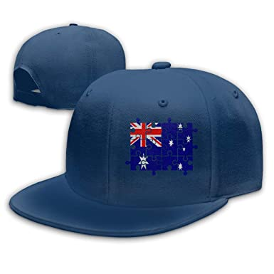 Unisex Baseball Gorra, Australian Flag Puzzle Hip Hop Hats ...