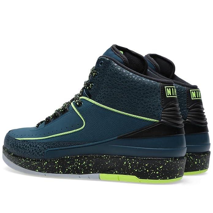 pretty nice 4494e b1b2a Amazon.com   Nike Mens Air Jordan 2 Retro Nightshade Leather Basketball  Shoes   Basketball