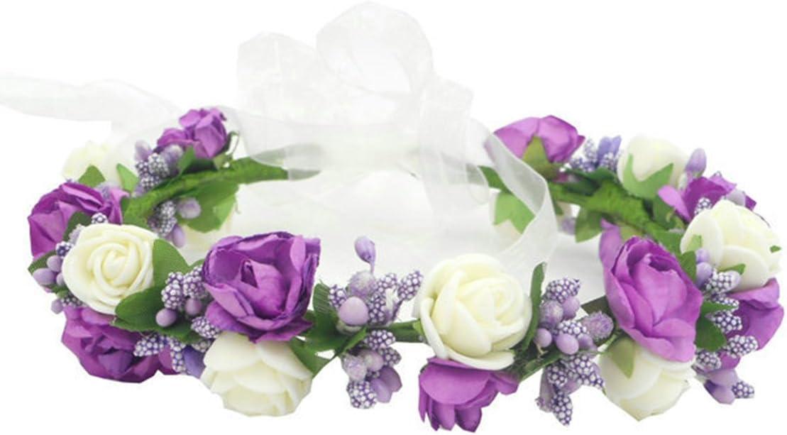 Flower Girl Crown Flower Headpiece Ivory Flower Crown Flower Crown Wedding Ivory Floral Tiara Flower Girl Headband Flower Head Wreath