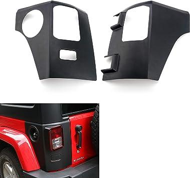Pair of Rear Corners Trail Armor fits Wrangler JK Unlimited Bushwacker 14010