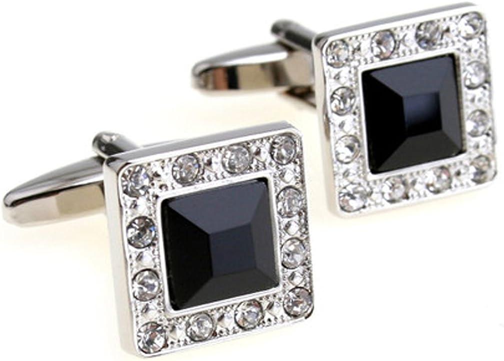 Amanecer Servicio síndrome  Amazon.com: Fashion2Beauty Super Shiny Swarovski Quality Crystal Cufflinks  Elegant Style Business Party Used: Jewelry