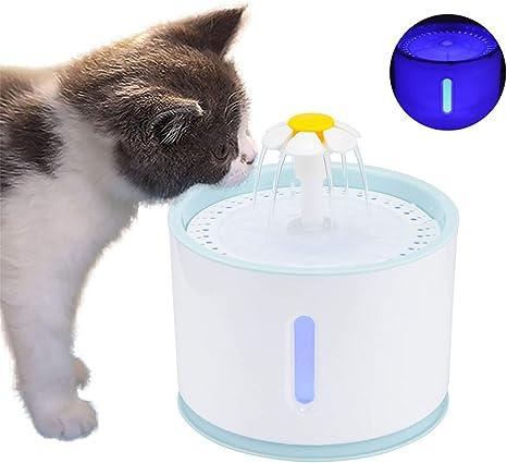 Ruiqas Filtros de Fuente para Gato 4 Paquetes para Fuente de Mascotas Dispensador de Agua autom/ático Filtros de carb/ón Activado Premium Filtros de Fuente de Flor para Gatos y Perros