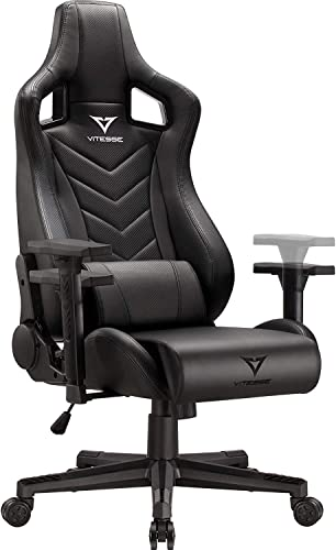 Vitesse Gaming Chair Sillas Gaming Ergonomic Computer Desk Chair Racing Style Comfortable Chair High Back Swivel Executive Leather Chair