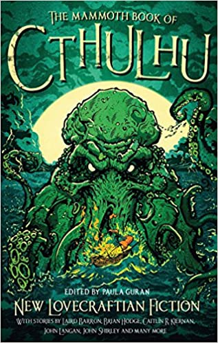 Image result for the mammoth book of cthulhu book cover