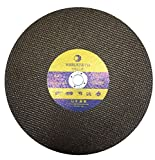 Whirlwind USA HSB 14-Inch x 1/8-Inch x 1-Inch Resin Bonded Abrasive Metal Cutting Wheel 5-Pack (14'')