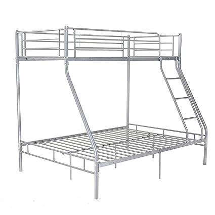 Marco de metal litera doble Triple único doble cama dormitorio ...