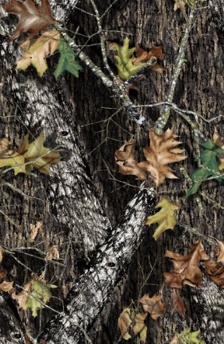 Camo Fabric Camouflage - Springs Creative 44-Inch Wide Cotton Cut Fabric, 2-Yard, Mossy Oak Camouflage Brown