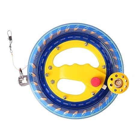 USHF Kite Reel Winder, Kite Line Winder Winding Reel Grip Wheel Handle with 656 ft