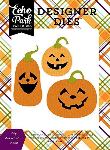 Echo Park Paper Company HA111042 Jolly Jack-O-Lantern Die Set (Jolly Jack O-lantern)