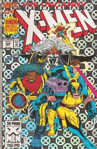 (Uncanny X-Men #300 Anniversary Issue Comic Book )