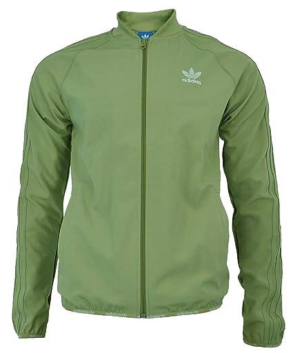 timeless design b199a 1ae86 Adidas SST TT 2.0 Originals Trefoil Track Top chaqueta hombres Hemp,  Tamaño XS