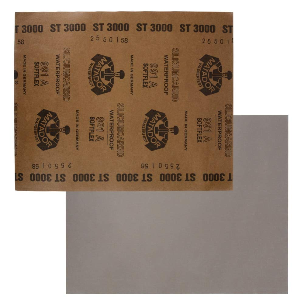 Maslin Polierschleifpapier Nass-//Trocken-Schleifpapier Schleifpapier Blatt Oberfl/äche Finish Finish K/örnung P2500 P3000 P5000 P7000 P1000 HT170-184