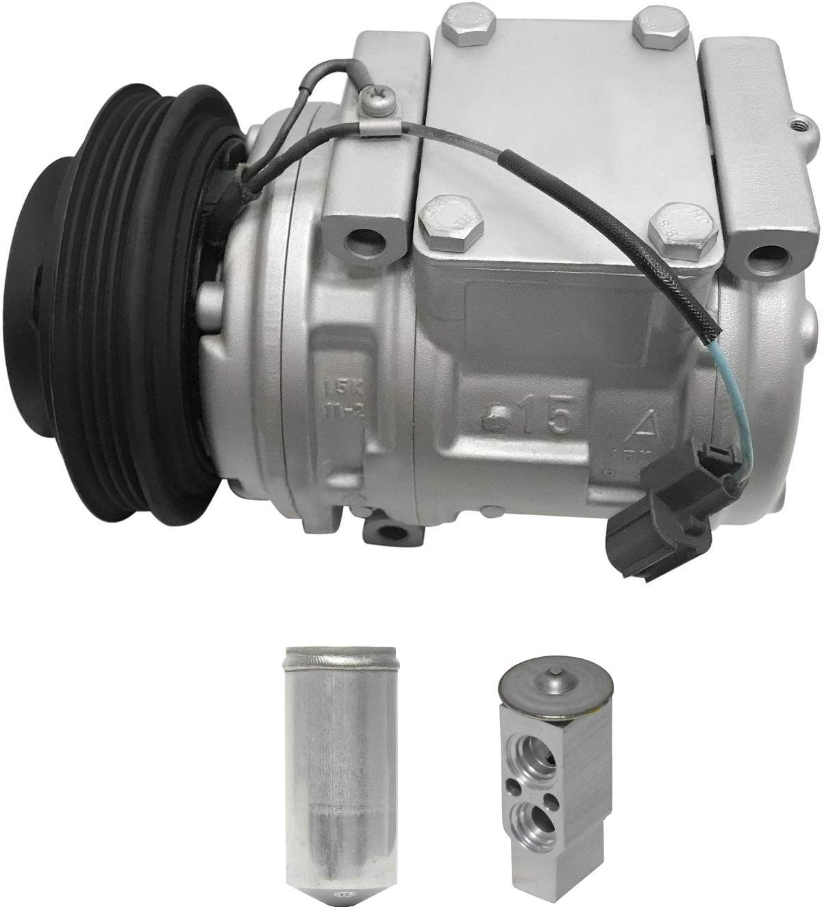 RYC Remanufactured AC Compressor Kit KT CG58