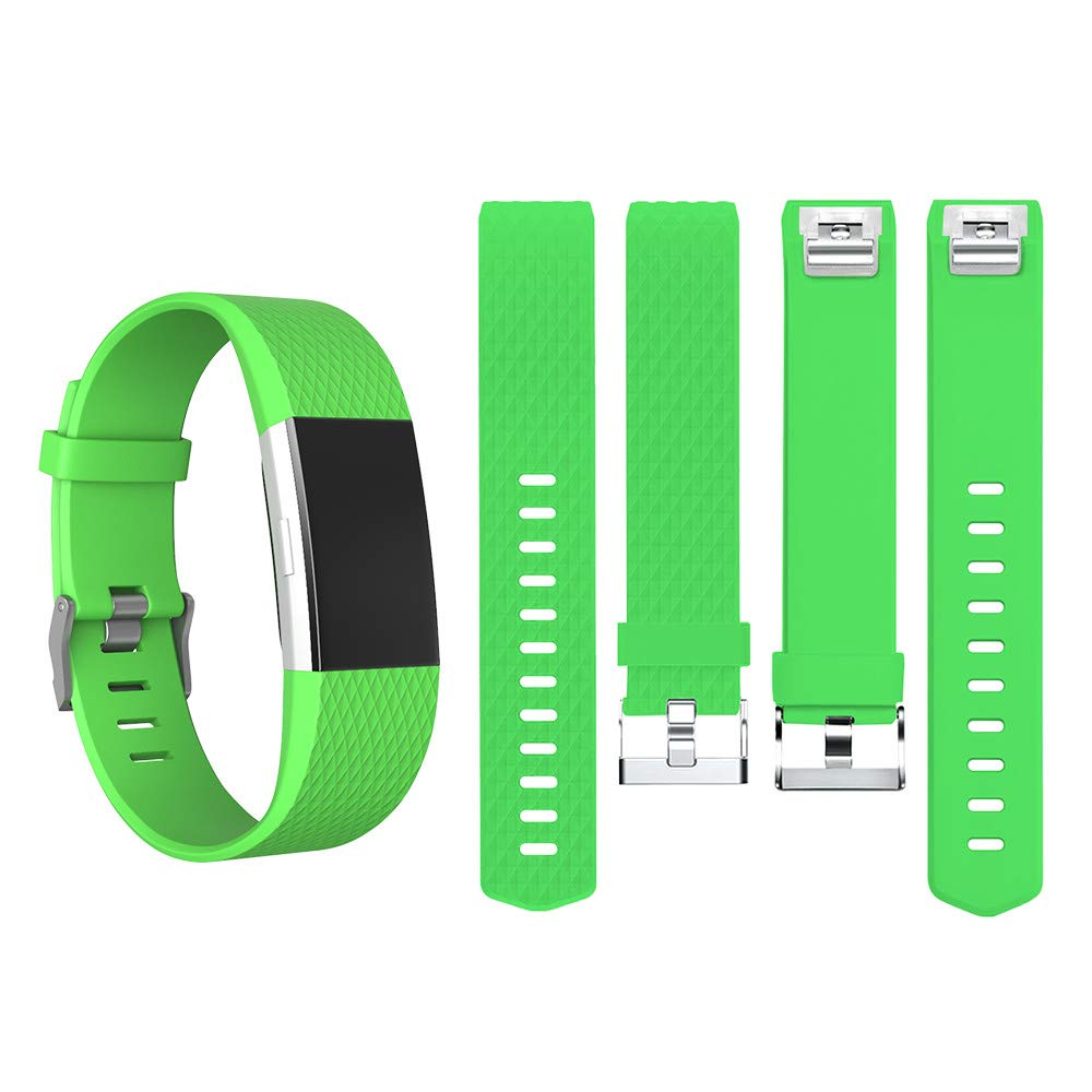 Soft Silicone Wristband Replacement Fasshionalble Sport Band for Fitbit Charge 2 Large//Small ANG ANCOOL Band Compatible Fitbit Charge 2