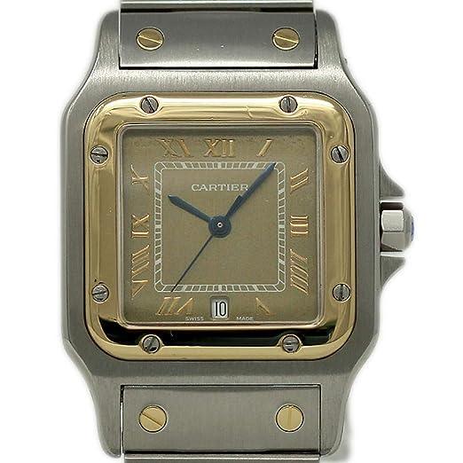 Cartier Santos Galbee 1566 - Reloj de Cuarzo Suizo para Mujer (Certificado prepropietario)
