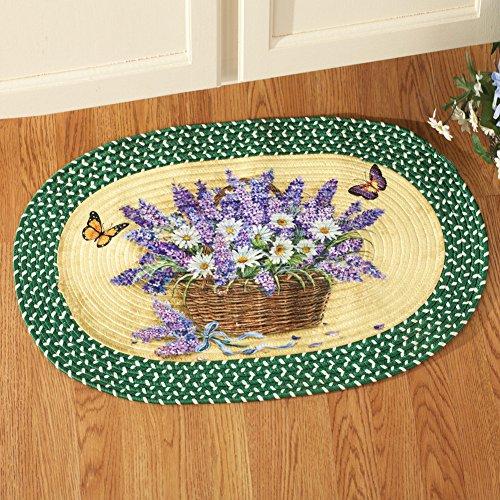 Lavender Braided Rug - 5