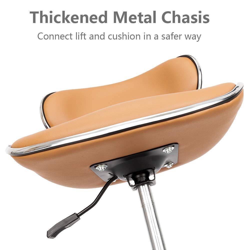 Amazon.com: Mefeir - Silla de trabajo con ruedas hidráulica ...