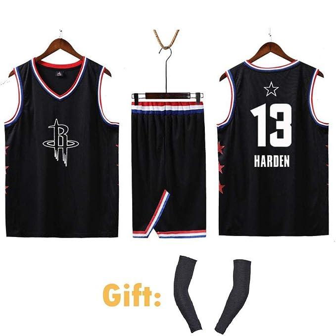 Uniformes De Baloncesto De Los Houston Rockets # 13 James Harden ...