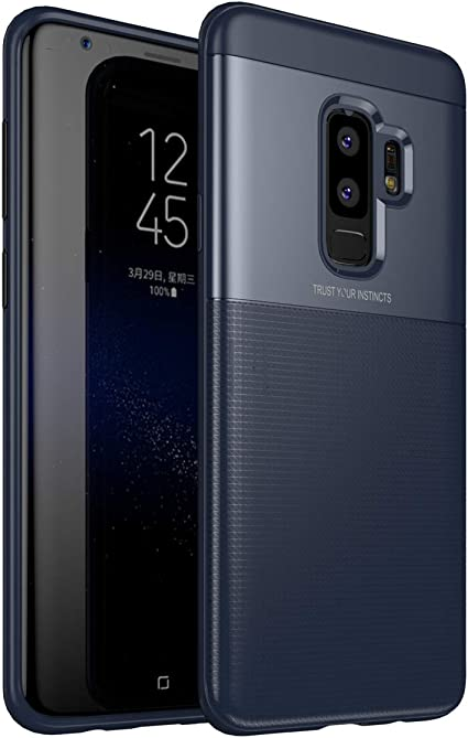 ZSCHAO Funda Galaxy S9 Plus S9+ Slim Silicona TPU AntiGolpes ...