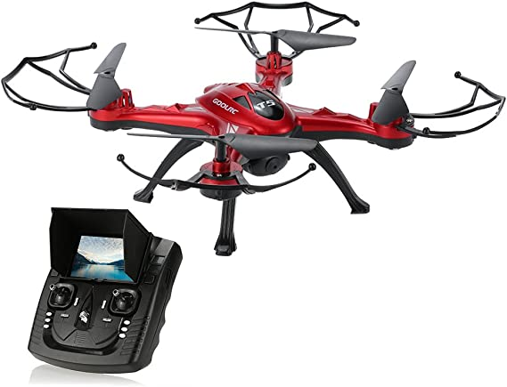 GoolRC T5G 5.8G FPV Drone Quadcopter with 720P HD Camera Live Video