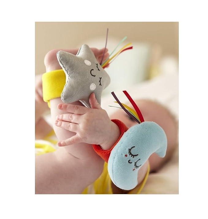 Baby Sensory Say Hello - Muñequera y tobillo - desde el nacimiento: Amazon.es: Bebé