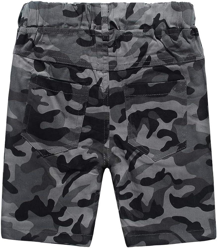 Nwada Baby Boy Clothes Sets Toddler Boys Outfits 2pcs T-Shirts and Shorts Kids Summer Clothing