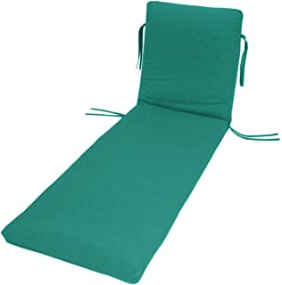 Amazon.com: Classic poliéster exterior Chaise cojín con ...