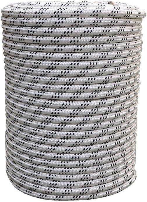 LIINA ロープ 16MMの電気牽引ロープ、曲がることが非常に難しくないフル機能のダブルグレードポリエステル工業用ワイヤーコア、吸水性なし (Size : 30M)  30M