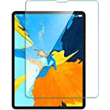 Jump Start Screen Protector for Apple iPad Pro 12.9-Inch 2018 (Clear) Tempered Glass Screen Protector with Advanced Touch Sensitive HD Clarity Compatible with iPad Pro 2018 12.9