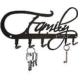 steelprint Porte-clefs mural  ** Family is forever** avec 5 crochets